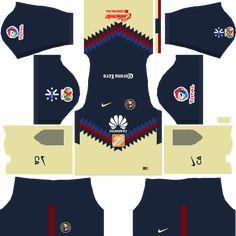 Dream League Soccer Kits Club America 2017 2018 Logo Url 512x512 Club America Club De Futbol America Camisetas De Futbol