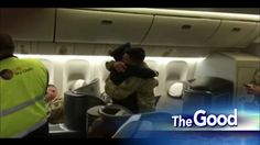 SEE IT: Pilot Surprises His Soldier Son on His Flight Home From Deployment