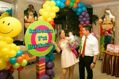 "Photo 1 of 14: Candyland / Birthday ""Isabella's 1st Birthday"" 