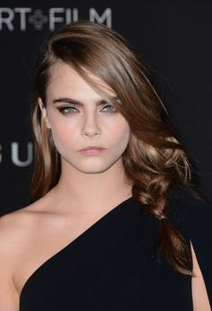Cara Delevingne at the 2014 LACMA Art Film Gala.