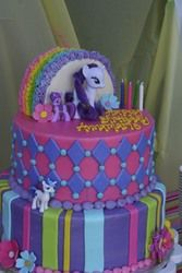 Annamarie's My Little Pony Party - My Little Pony and Rainbows - Amazing cake and whoopie pies