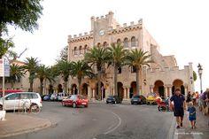 Ayuntamiento Ciutadella, Menorca, Balearic Islands, Spain