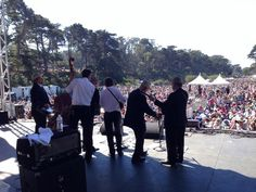 the Earls of Leicester! This stuff is strictly bluegrass at Hardly Strictly Bluegrass
