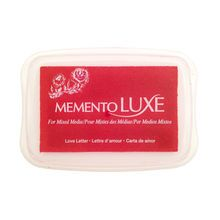 Memento Luxe Full-Size Inkpad, Love Letter Red