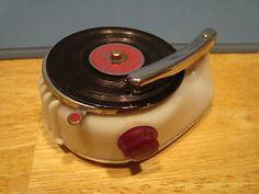 Bakelite Phonograph Lighter-Made in Occupied Japan