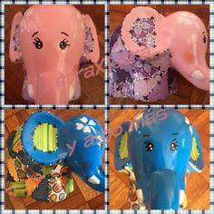 Alcancías de elefante 120 síguenos en Facebook LetraXletra