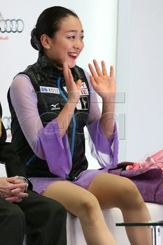 Mao Asada of Japan reacts after the Ladies Free Dance event at the Audi Cup of China ISU Grand Prix of Figure Skating in Beijing, China, 07 November 2015. EPA/WU HONG