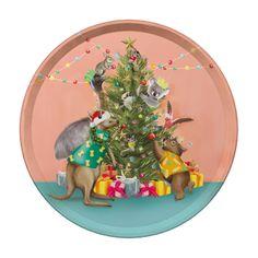 Celebrations Tray Festive Holiday Christmas – La La Land