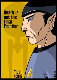 Rest in peace, Mr. Nimoy.