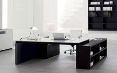 glass wood desk - Recherche Google
