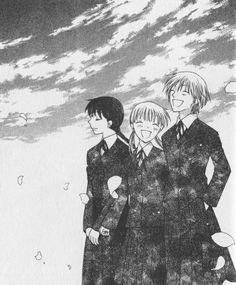 Natsuki Takaya, Fruits Basket, Arisa Uotani, Tohru Honda, Saki Hanajima- their friendship was one of the best storylines in the whole thing