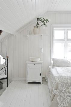 White-wash wood