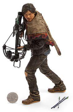 The Walking Dead Deluxe 10 inch. Daryl Dixon Figure