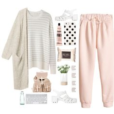 Spring day (tag) by berina-2000 on Polyvore featuring 6397, Monki, H&M, JuJu, Maison Margiela, Kate Spade, Topshop, Aesop and LSA International