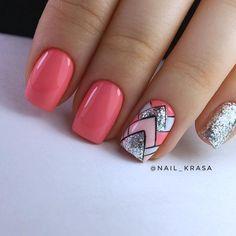 Nail Shapes - My Cool Nail Designs Cool Nail Designs, Acrylic Nail Designs, Gel Nagel Design, Nagellack Trends, Latest Nail Art, Nagel Gel, Nail Decorations, Perfect Nails, Nails Inspiration