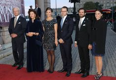Sweden Royals attend a performance at Sweden's Royal Opera. 15-09-2015
