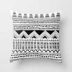black and white Moroccan design