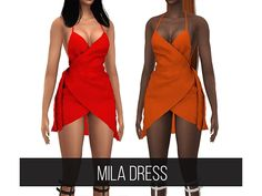 The Sims 4 MILA DRESS