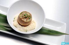 Joshua Valentine's Balut: Poached Egg, Duck Confit & Foie Gras Mousse