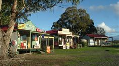 Old Dadswell Town, Dadswells Bridge / Stawell - Travel Victoria: accommodation & visitor guide Australia Hotels, Vacation Rental Sites, Property Search, General Store, Old Town, Melbourne, This Is Us, Condo, Cottage