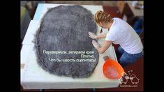 Валяный войлочный камень из шерсти. Валяние камня мастер класс