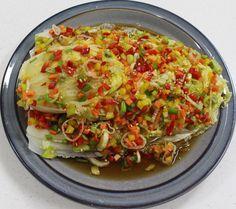 이연복 명품 배추찜 만들기 만능 소스 만들기도 쉽구나!! Authentic Korean Food, Korean Side Dishes, Party Dishes, Veggie Dishes, Light Recipes, Food Menu, Food Design, No Cook Meals, Food Hacks