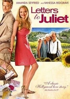 Letters to Juliet starring Amanda Seyfried, Gael García Bernal, Vanessa Redgrave and Franco Nero Vanessa Redgrave, Amanda Seyfried, Film Music Books, Music Tv, Movies Showing, Movies And Tv Shows, Juliet Movie, Letters To Juliet, Bon Film