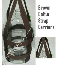 Check out this item in my Etsy shop https://www.etsy.com/listing/266180496/6-gallon-water-bottle-strap-carrier