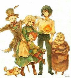 I LOVE THIS MOVIE SO MUCH! It's super cute! I've seen it like six times and I'm always willing to watch it again. Howl's moving castle.