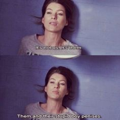 Meredith Grey, always so right about everything