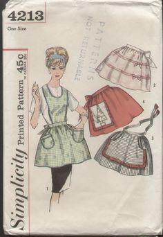 1962 aprons