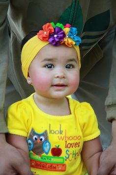 Arabian and Pacific Islander. Cute mixed Asian baby!