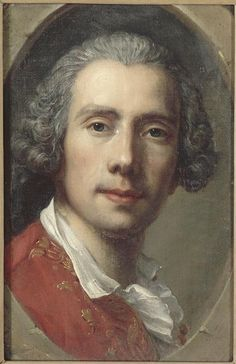 Guillaume Voiriot, French portrait painter (self-portrait, c. 1749).