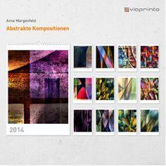 """Arne Margenfeld - Motivkalender """"Abstrakte Kompositionen"""""""