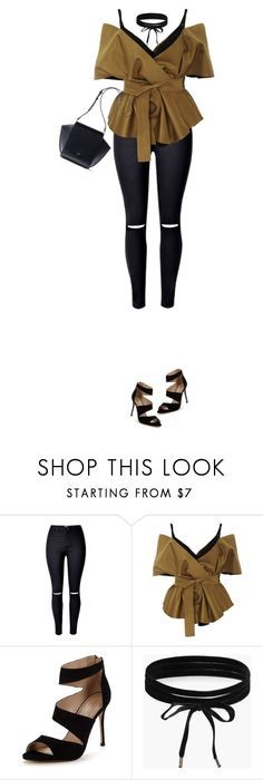 """""""Chic & Stylish"""" by marion-fashionista-diva-miller ❤ liked on Polyvore featuring Acler, Carvela, Boohoo, chic and stylish"""