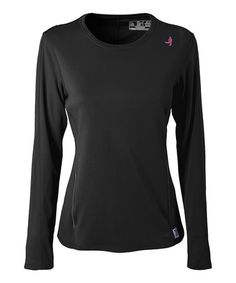 New Balance Black Tempo Tee by New Balance