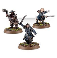 Kili the Dwarf, Fili the Dwarf and Bofur the Dwarf – Champions of Erebor