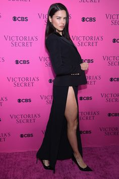 Victoria's Secret Angel Adriana Lima attends as Victoria's Secret Angels gather for an intimate viewing party of the 2017 Victoria's Secret Fashion Show.