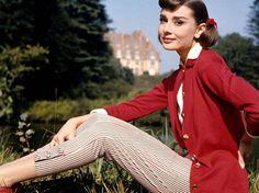Ao lado de Grace Kelly e Marilyn Monroe, ela popularizou o uso da calça capri