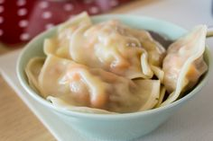 Chinese Dumplings with Pork and Cabbage