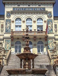 Vasváry Villa, Pécs Hungary Pecs Hungary, Heart Of Europe, Austro Hungarian, Central Europe, Budapest Hungary, Places To Travel, Beautiful Places, Building, Castle