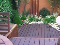 Small Garden Inspiration, Hair Inspiration, Patio Layout, Ideas Para, Deck, Outdoor Decor, Home Decor, Google, Terrace