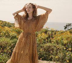 SORELL DRESS -- GOLDEN