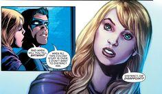 Detective Comics 939 TimSteph Tim Drake Red Robin Stephanie Brown Spoiler Art