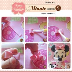 How to make Minnie Baby (only face)