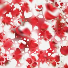 Abstract Valentines Day Heart Background Heart Background