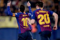 Villarreal v FC Barcelona - La Liga Santander Messi Goal Video, Lionel Messi, Fc Barcelona, Messi Goals, Celebrities, Sports, The League, High Resolution Picture, Hs Sports