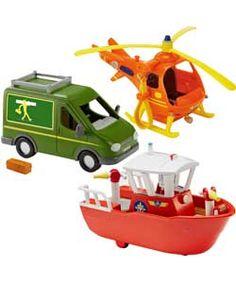 Fireman Sam Vehicle Assistance.
