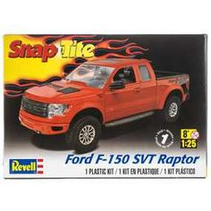 Ford F-150 SVT Raptor Snap-Tite Model Car Kit