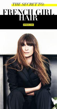 My secret;) 7 hair rules French women always follow. // #Hair #Tips
